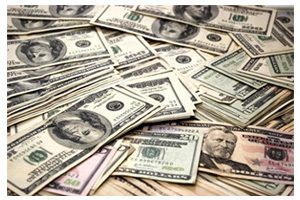 scattered dollars